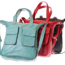 Gundara - cross-body leather bag - Happy Laura - handmade in Ethiopia