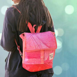 Up-fuse - mini backpack - upcycling - handmade & fair from Cairo - Gundara