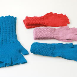 Hecho N Peru - wrist warmers - baby alpaca - fair trade from Peru